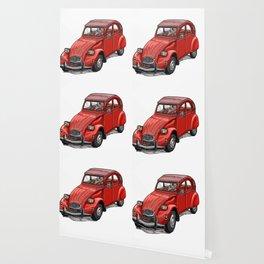 Red 2cv Wallpaper