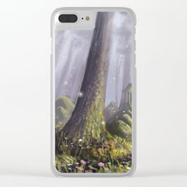 Totoro's Forest Clear iPhone Case