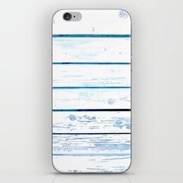 Paint Wood iPhone Skin