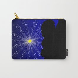 Celebration Silhgouette Kiss Carry-All Pouch