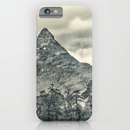 Patagonia Forest Landscape, Aysen, Chile iPhone Case