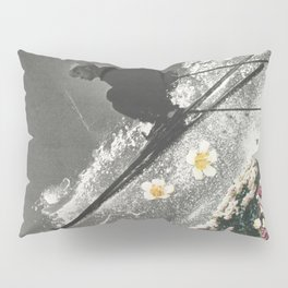 Spring Skiing Pillow Sham