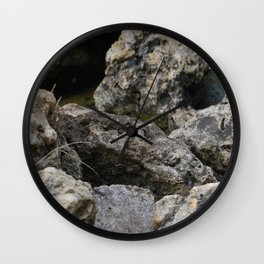Rocking Out Wall Clock