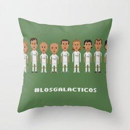 Los Galacticos Throw Pillow