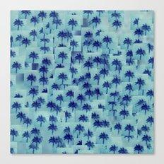 Palm party Canvas Print