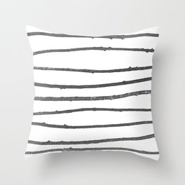 Squigs Throw Pillow