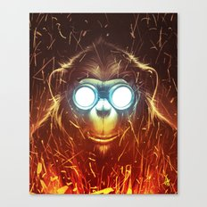 Monksmith II Canvas Print