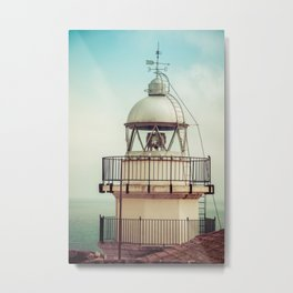Lighthouse of Peniscola Metal Print