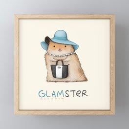 Glamster Framed Mini Art Print