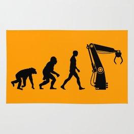 Replaced  |  Human Evolution Rug