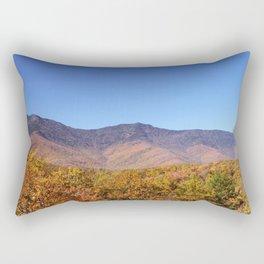 Autumn in the Blue Ridge Mountains Rectangular Pillow