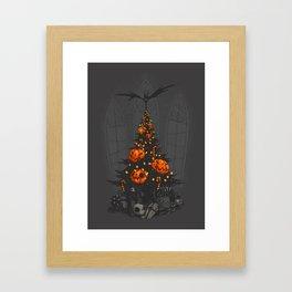 I'm Dreaming of a Dark Christmas Framed Art Print