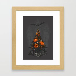 I'm Dreaming of a Dark Christmas Framed Art Print