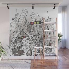 Chaos Wall Mural