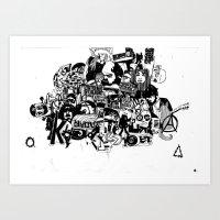 cockrock Art Print