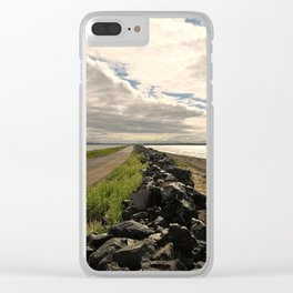 Rocky Shore Clear iPhone Case