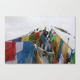 The Roof of the World Canvas Print