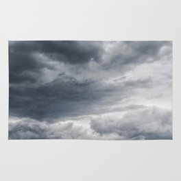 Storm Clouds Rolling In Rug