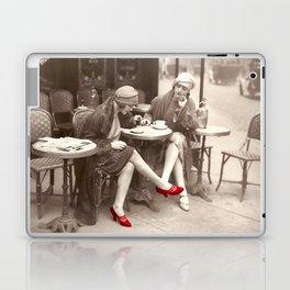 New Red Shoes Vintage Paris Photo Laptop & iPad Skin