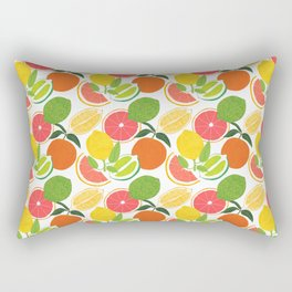 Citrus Harvest Rectangular Pillow