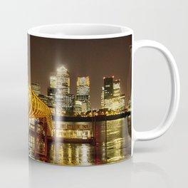 London, Piers of Docklands Hilton Coffee Mug