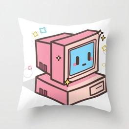 Your 90's Computer Throw Pillow