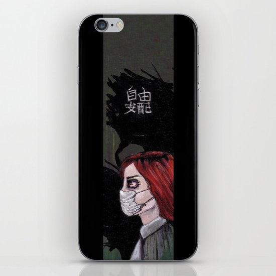 freedom control iPhone & iPod Skin