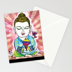 Buddha's Delight Stationery Cards
