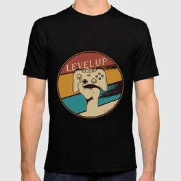 Level Up Vintage Gaming T-shirt