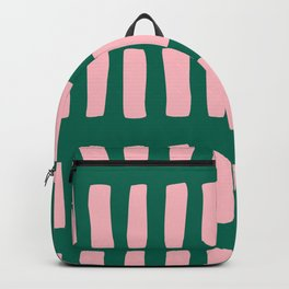 Handrawn Boho Rectangles No 03 Backpack