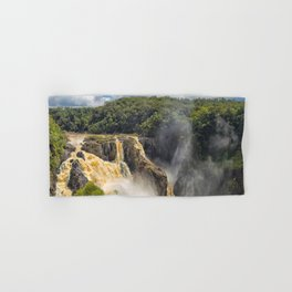 Beautiful wild waterfall Hand & Bath Towel