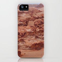Valle de la Luna, Chile iPhone Case
