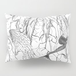 Daughters of Achelous Pillow Sham