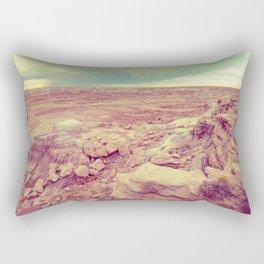 Desert Rain Rectangular Pillow