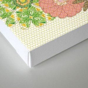 Flower Gardens Canvas Print