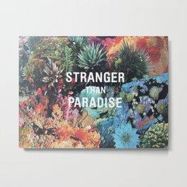 _STRANGER Metal Print