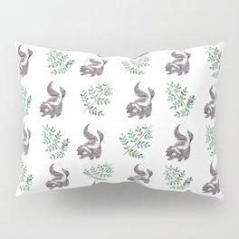 Skunk & Fern Pillow Sham