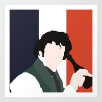 grantaire Art Prints featuring GRANTAIRE – LES MISÉRABLES by K. Frank