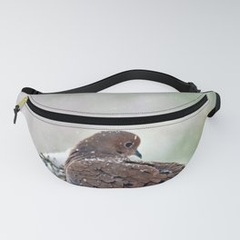 Peaceful Winter Dove Fanny Pack