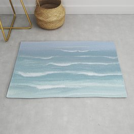 Seashore Small Waves Rug
