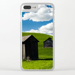 Two Shacks Clear iPhone Case