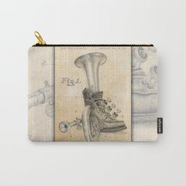 Shoe Horn Reinvention Drawing Carry-All Pouch