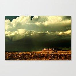 Heaven and Mesa Canvas Print