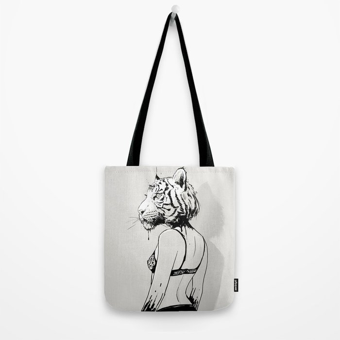 Bloody Tigress Tote Bag