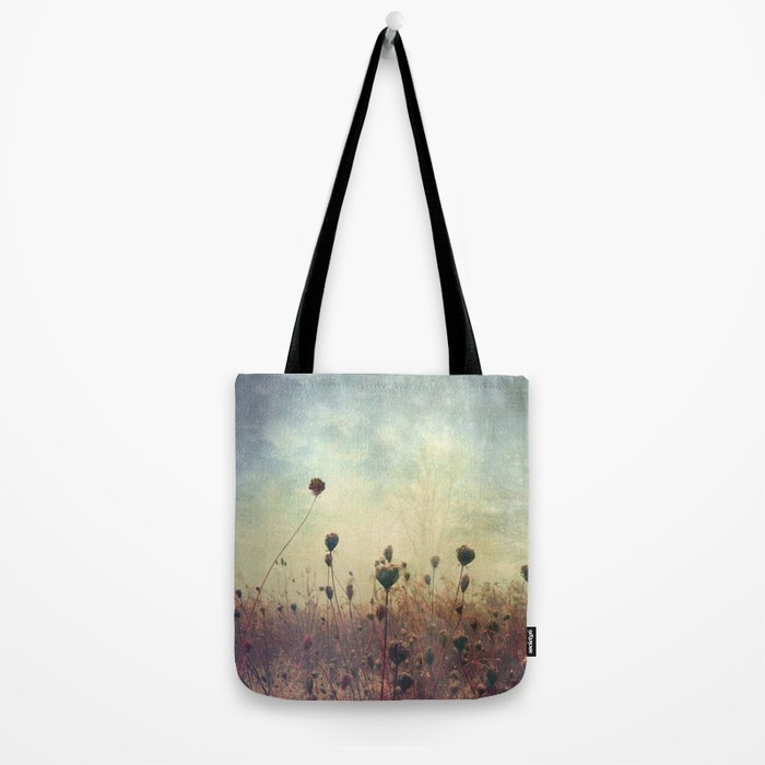 Her Mind Wandered in Beautiful Worlds Tote Bag