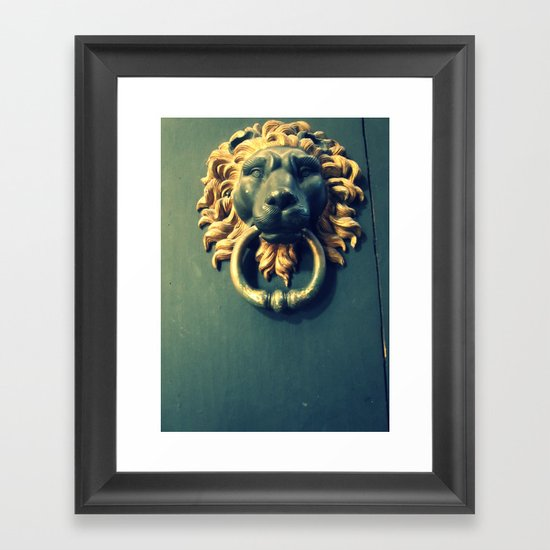 Even if there isn't any Narnia. Framed Art Print