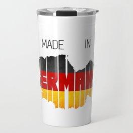 Made in Germany. Berlin. German. Deutschland Travel Mug