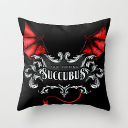 Succubus Shirt Throw Pillow