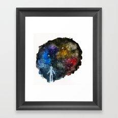 The Wonder of Space Framed Art Print