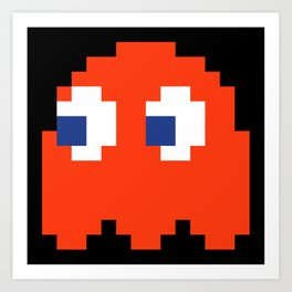 8-Bits & Pieces - Blinky Art Print
